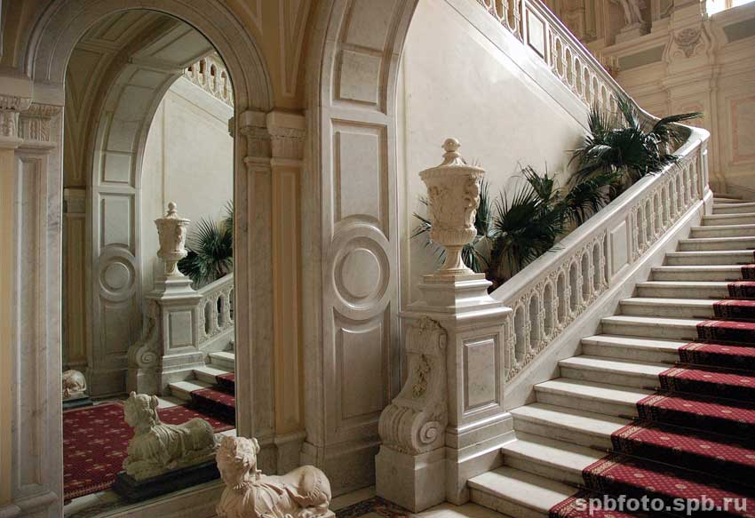 Парадные лестницы фото