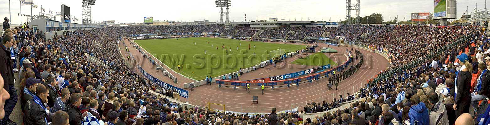 Панорама стадиона Петровский.
